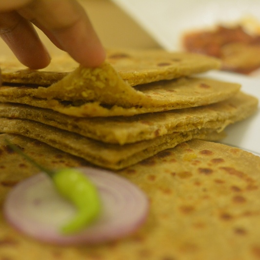 How to make Minced Chicken Paratha (Chicken Kheema Paratha)