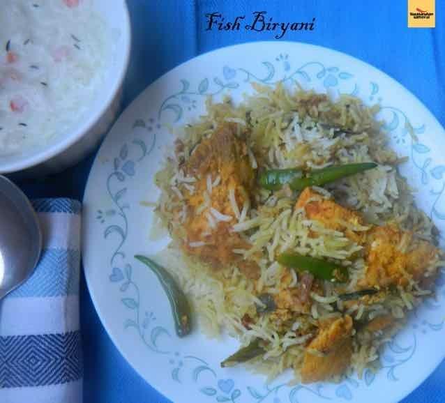 How to make Fish Biryani