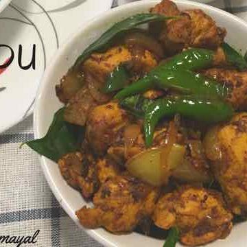 How to make kodi Vepudu (Andhra Spicy Chicken Fry)