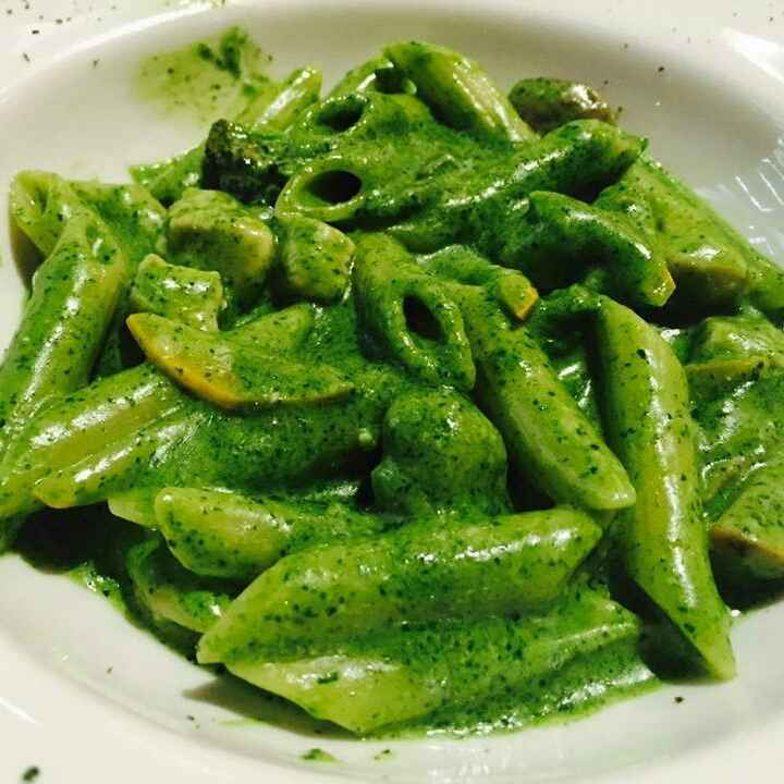 Photo of Green Pasta by Paramita Chatterjee at BetterButter