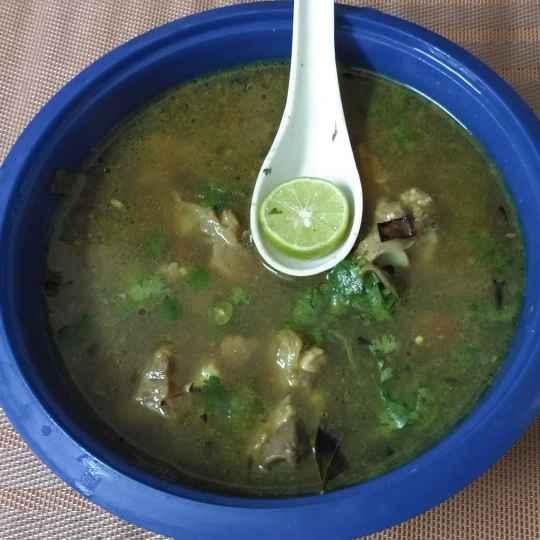 Photo of Mutton Paya soup by Paramita Chatterjee at BetterButter