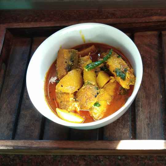 Photo of Gujali Macher Jhal by Paramita Chatterjee at BetterButter