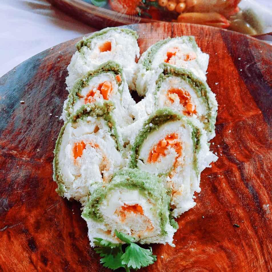 Photo of Pinwheel Sandwich by Paramita Chatterjee at BetterButter