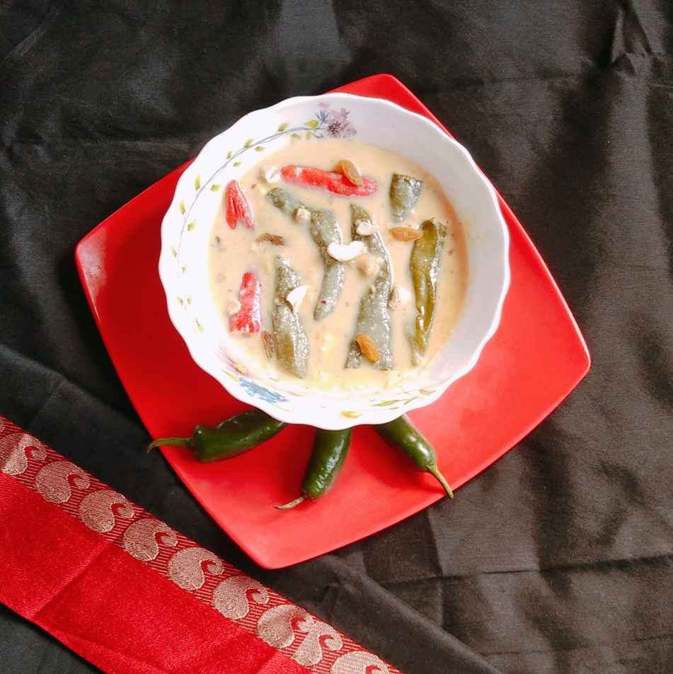 Photo of Stiffed Chilli Kheer by Paramita Chatterjee at BetterButter