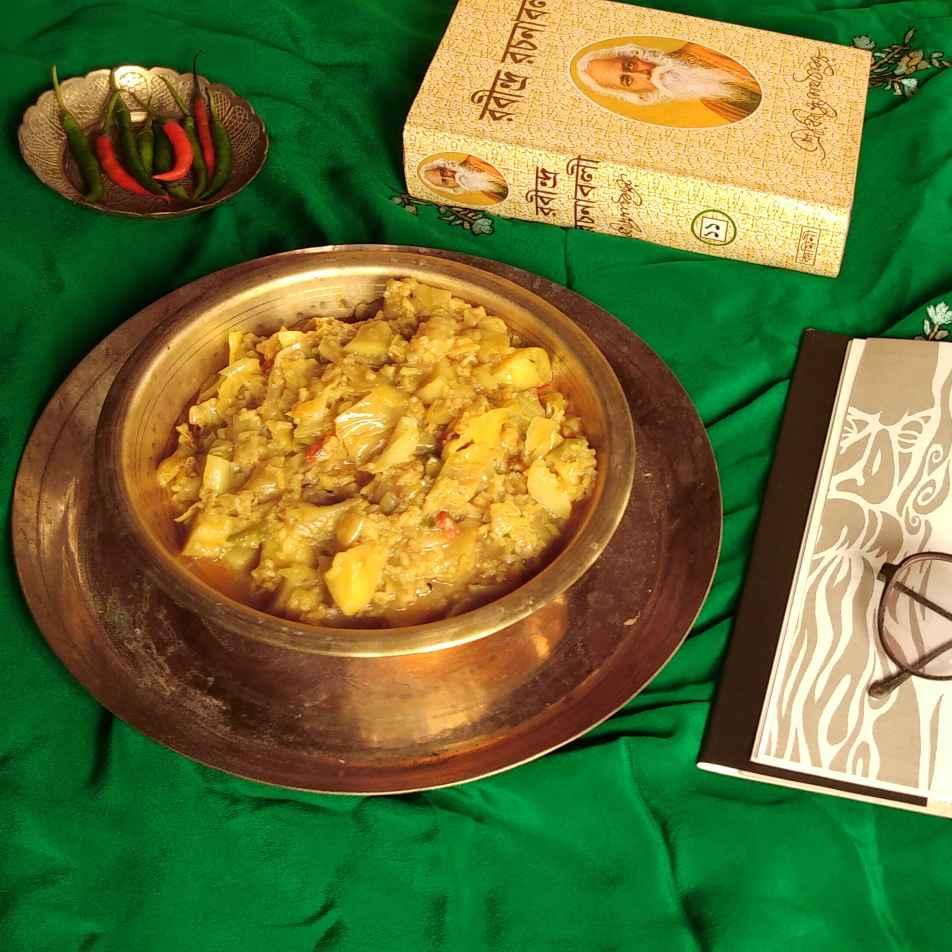 Photo of Chal diye Badhakopi by Paramita Chatterjee at BetterButter
