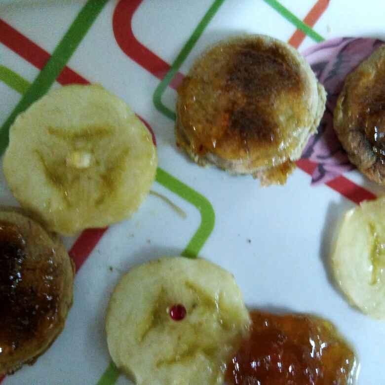 Photo of Banana pan biscuits by Sowjanya munukutla at BetterButter