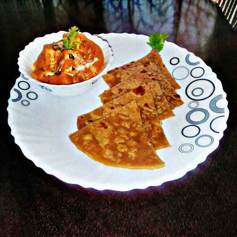Photo of Gobi bread paratha ,paneer butter masala by sowmya shriram at BetterButter