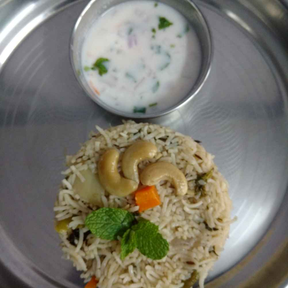 How to make వెజ్ పులావ్