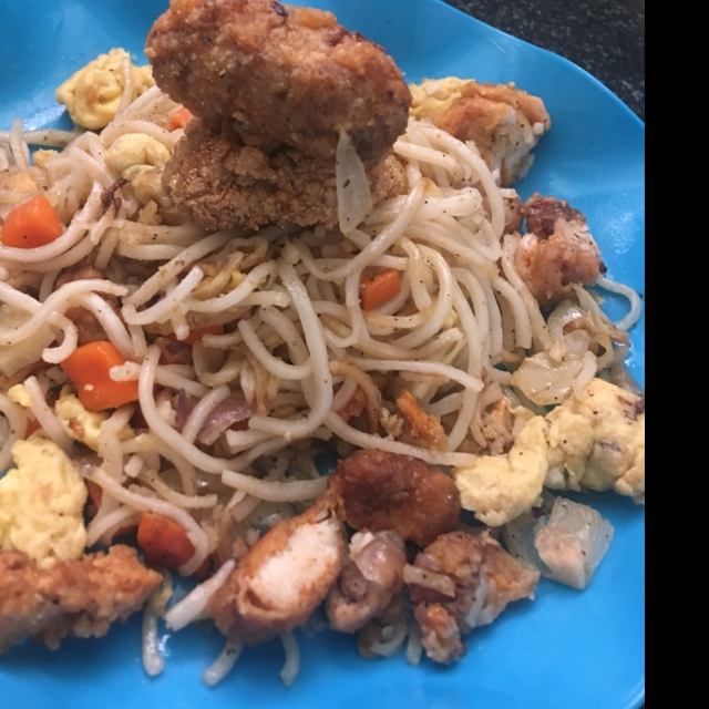 How to make Chicken Noodles