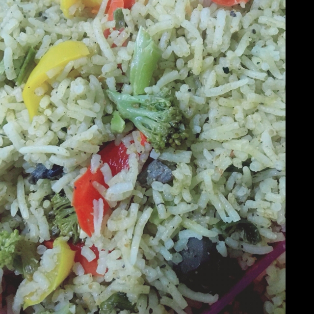 Photo of Healthy broccoli pulao by Avni U at BetterButter