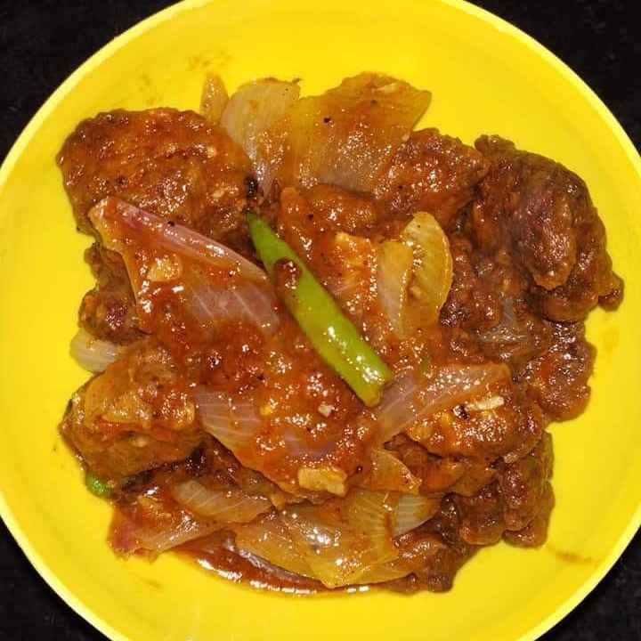 Photo of Red Lemon Honey Chicken by Sreeja Mukherjee at BetterButter