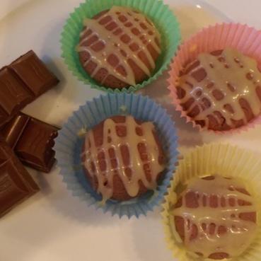 Photo of Chocolate Sandesh by Sreemoyee Bhattacharjee at BetterButter