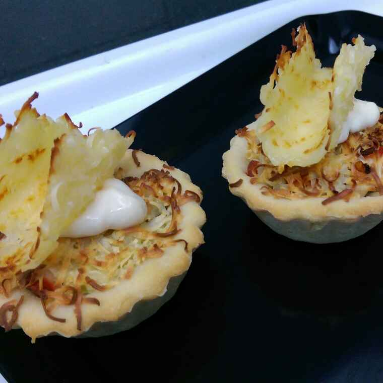 How to make Pizza tarts with cheese twirls