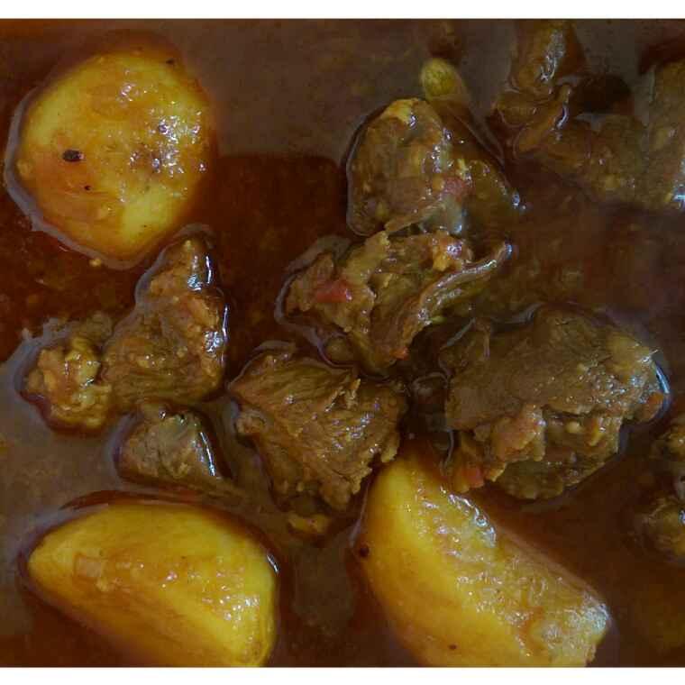 How to make Mutton kasha