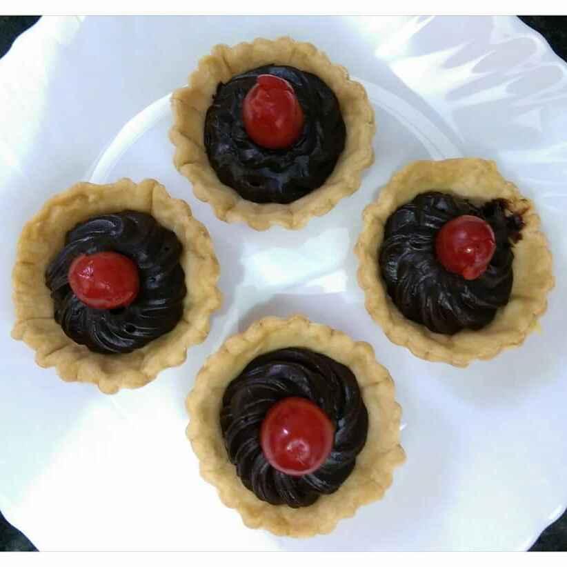 Photo of Chocolate Tarts by Sreemoyee Bhattacharjee at BetterButter