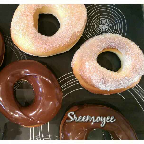 Photo of Baked Doughnuts by Sreemoyee Bhattacharjee at BetterButter