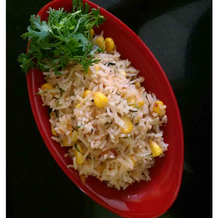 How to make Corn Fried Rice