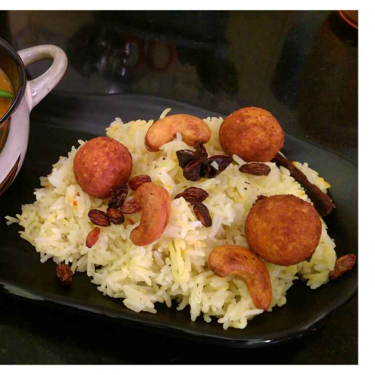 How to make Moti pulao
