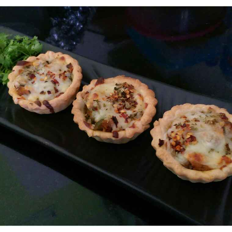 How to make Vegetable tarts