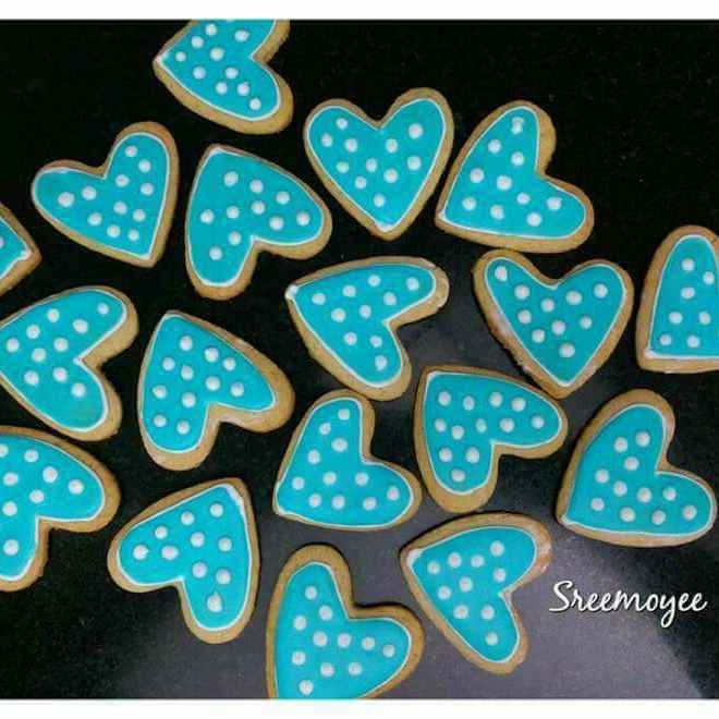 Photo of Sugar cookies by Sreemoyee Bhattacharjee at BetterButter