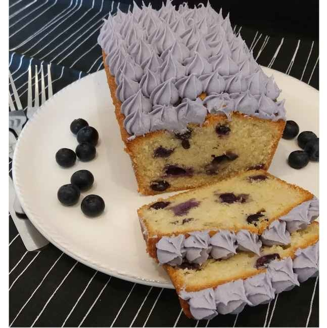 Photo of Blueberry pound cake by Sreemoyee Bhattacharjee at BetterButter