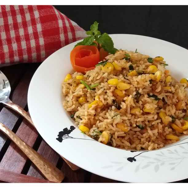 Photo of Sweet corn rice by Sreemoyee Bhattacharjee at BetterButter