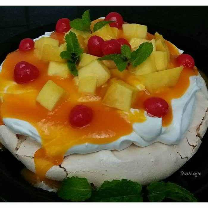 How to make Mango pavlova