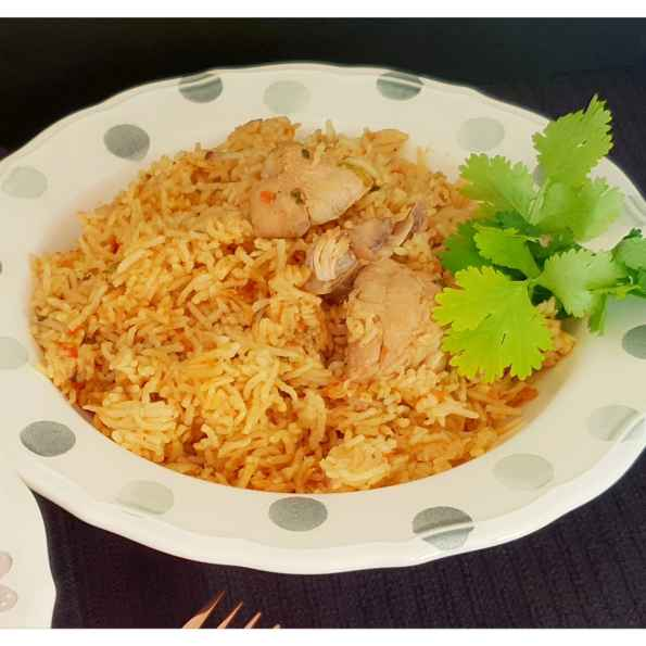 Photo of Pressure cooker chicken pulao by Sreemoyee Bhattacharjee at BetterButter