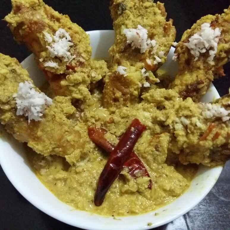 Photo of Prawn in Poppy Seed Mustard Paste / Sorse Posto Chingri by Sreeparna Banerjee Mitra at BetterButter