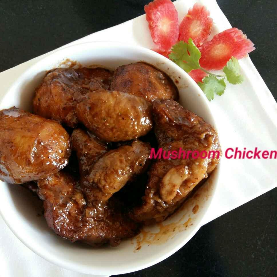 Photo of Mushroom Chicken by Sreeparna Banerjee Mitra at BetterButter