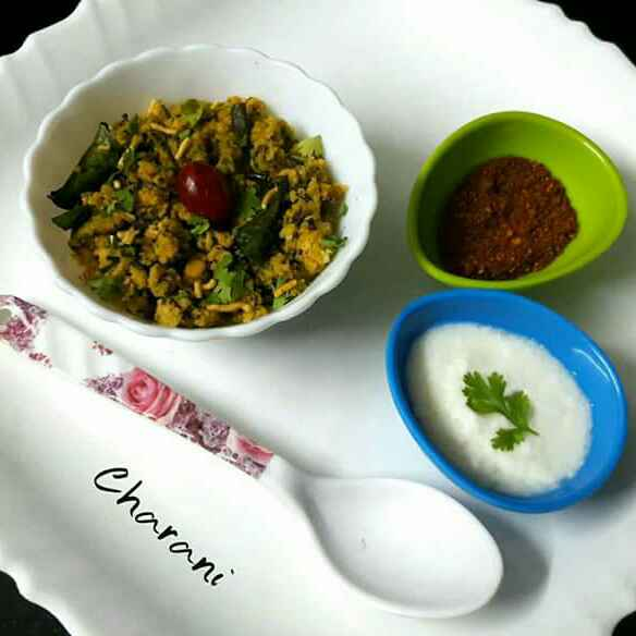 Photo of Palak Idli upma by Sri Charani Ravinuthala at BetterButter