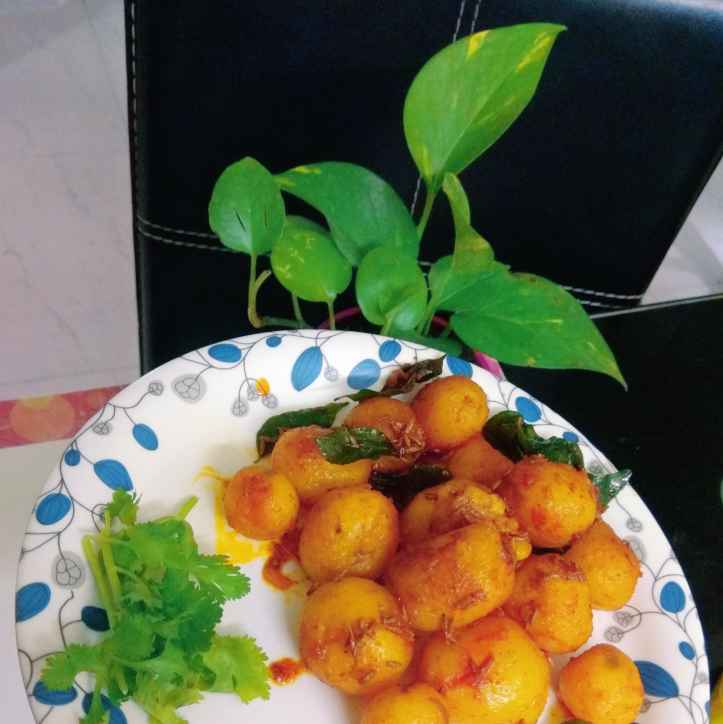 Photo of Baby Aloo Fry by Sridevi Vedantham at BetterButter