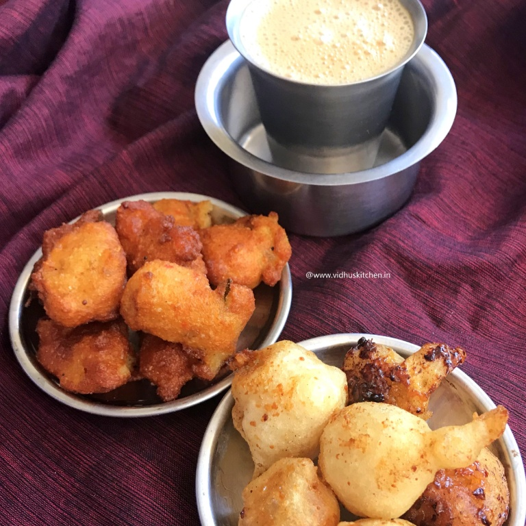 How to make Sooyan /Sukiyan /Suzhiyam from leftover Idli / dosa batter  - Classic Teatime Combo
