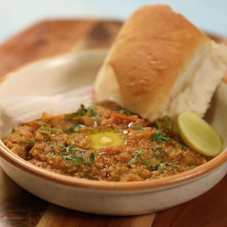 How to make Nutrela Soya Pav Bhaji