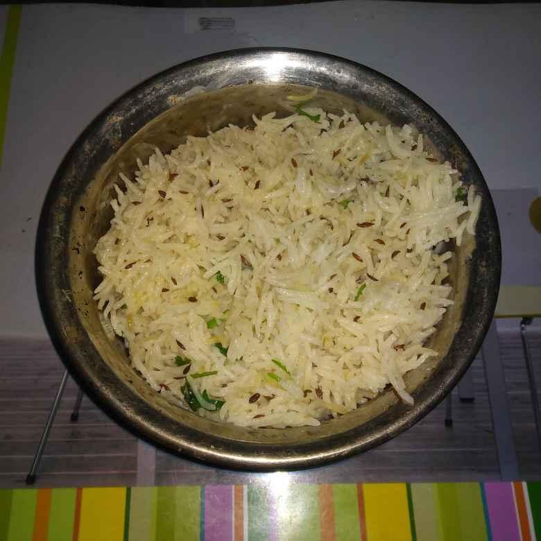How to make જીરા રાઈસ