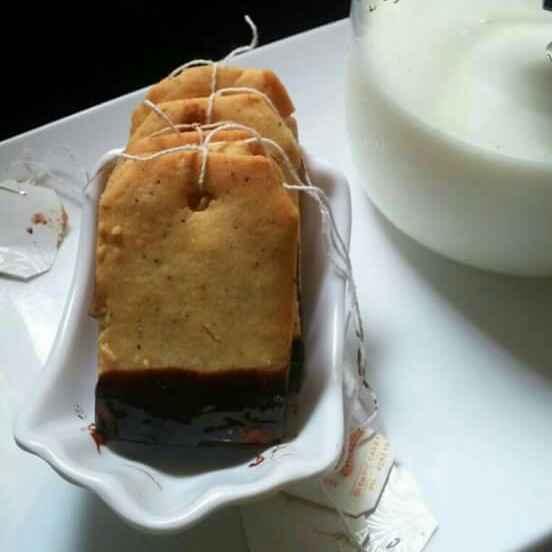 How to make Earl grey and Chocolate Shortbread Tea Bag Cookies