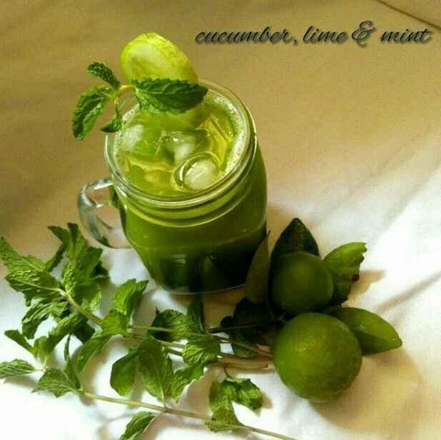Photo of Cucumber , lime & mint agua fresca by Subashini Murali at BetterButter
