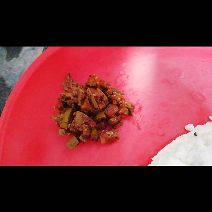 Photo of INTANT hot and spicy mango pickle by Subha Shivaguru at BetterButter