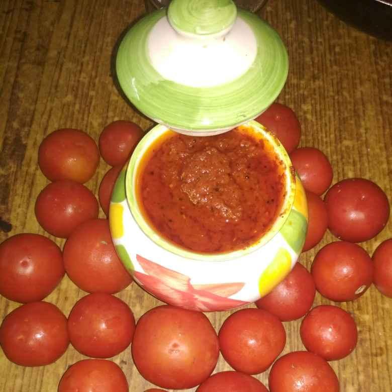 Photo of Tomato instant pickle by Subhamahi Nucherla at BetterButter