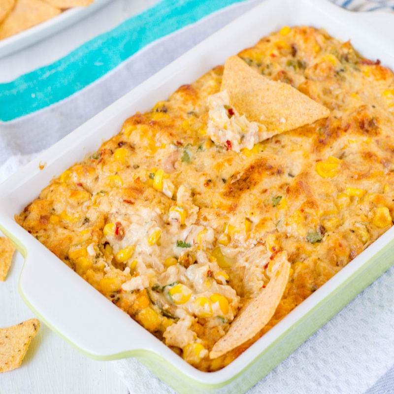 How to make Cheesy Corn Dip