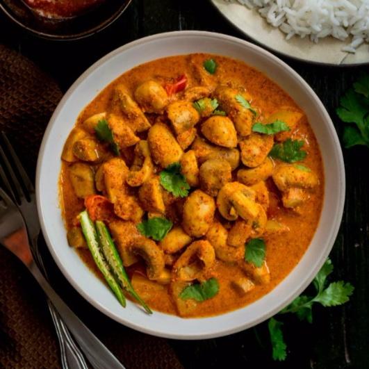 How to make Mushroom in spicy mustard gravy (Chatu Besara)