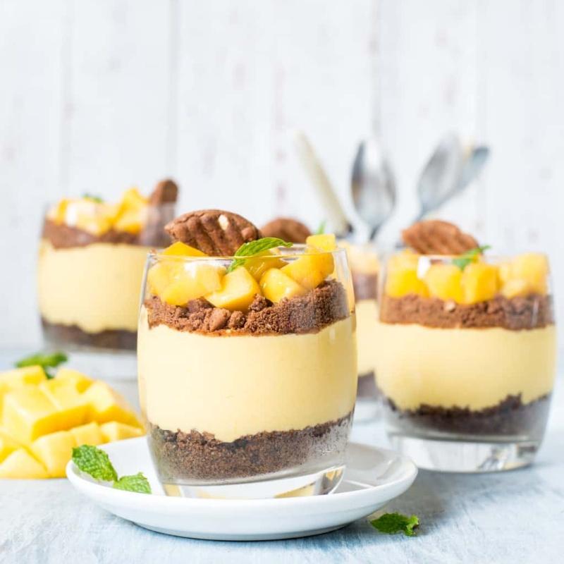 Photo of Mango CheeseCake Parfait by Subhasmita Panigrahi at BetterButter