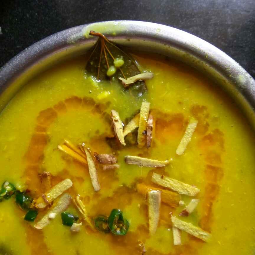 How to make Kancha kalai dal