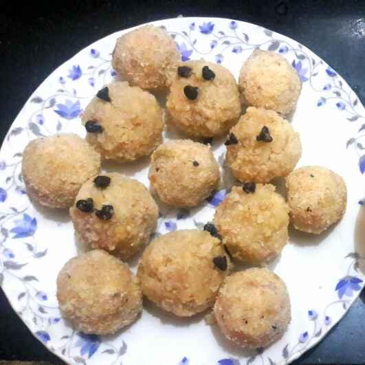 How to make Poha honey til ladoo
