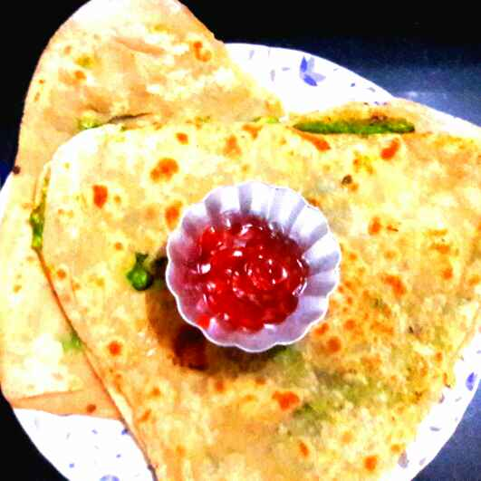 How to make Peas paratha no onion n garlic