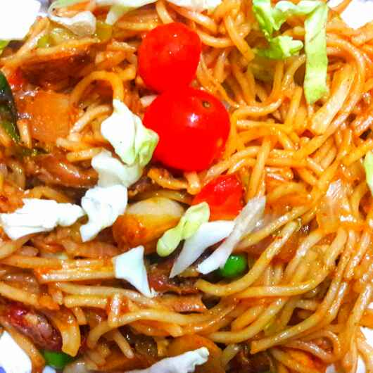 How to make Pan fry noodles
