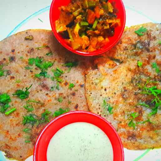 How to make Ragi Urad Dal pancakes