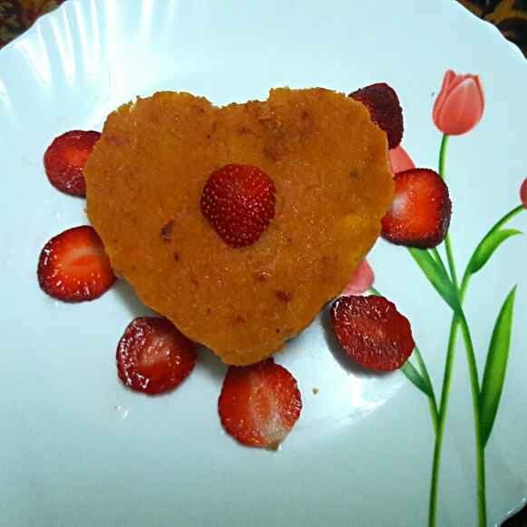 Photo of Strawberry Sheera by Suchetaa Bose at BetterButter