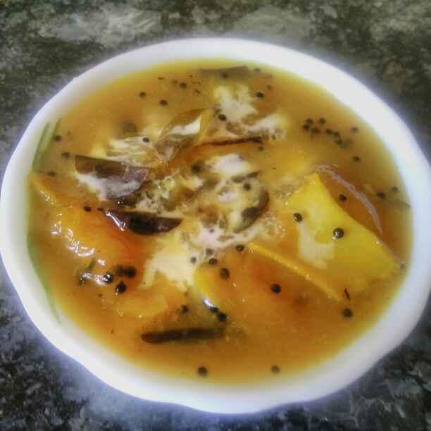 How to make Raw Mango Sweet Curry