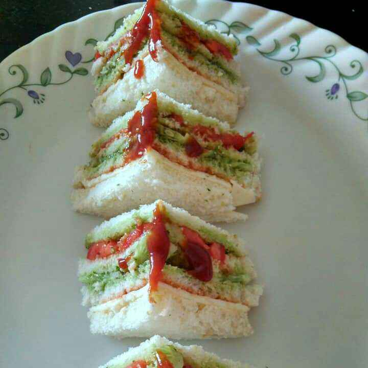 Photo of Veg Sandwich by Suchita Wadekar at BetterButter